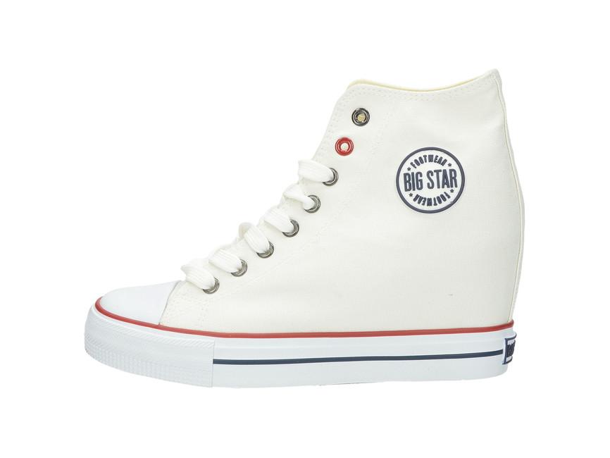 ... Big Star dámské tenisky - bílé ... 03999a9c87