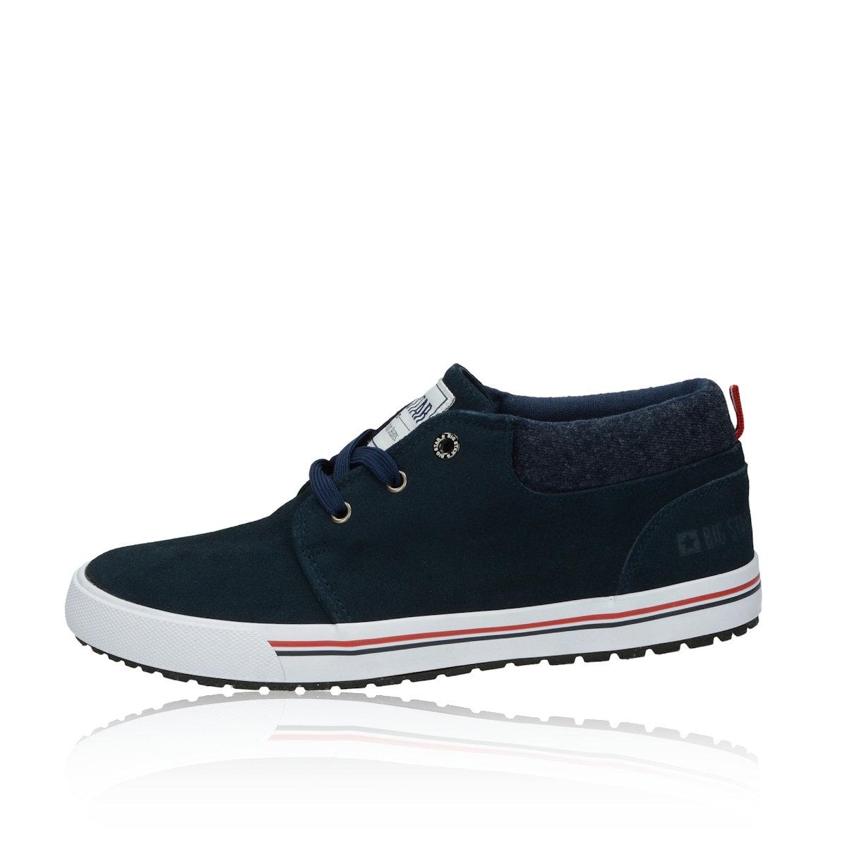 Big Star pánské kotníkové boty - modré