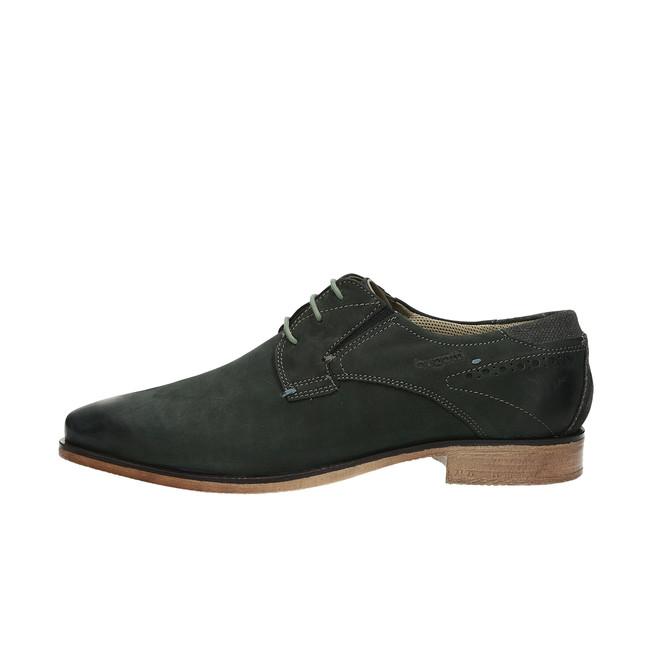 Bugatti pánské kožené společenské boty - černé ... 17299e778b
