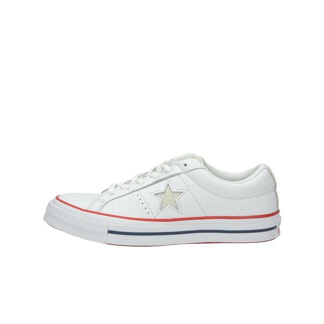 Converse dámské kožené tenisky - bílé Converse dámské kožené tenisky - bílé  ... b144d201a2