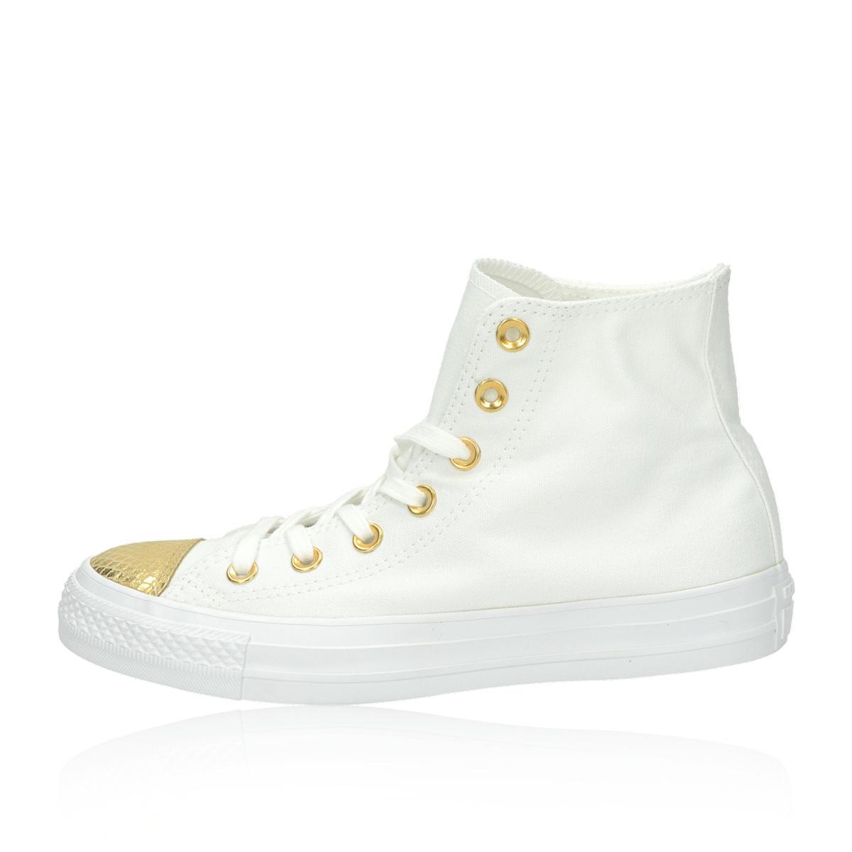 Converse dámské tenisky - bielozlaté Converse dámské tenisky - bielozlaté  ... 60af035d16