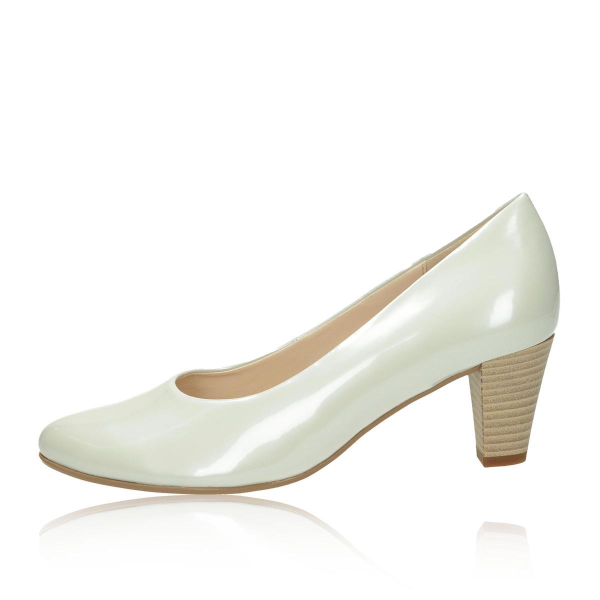Gabor dámské lodičky - bílé Gabor dámské lodičky - bílé ... b21ca6a89c