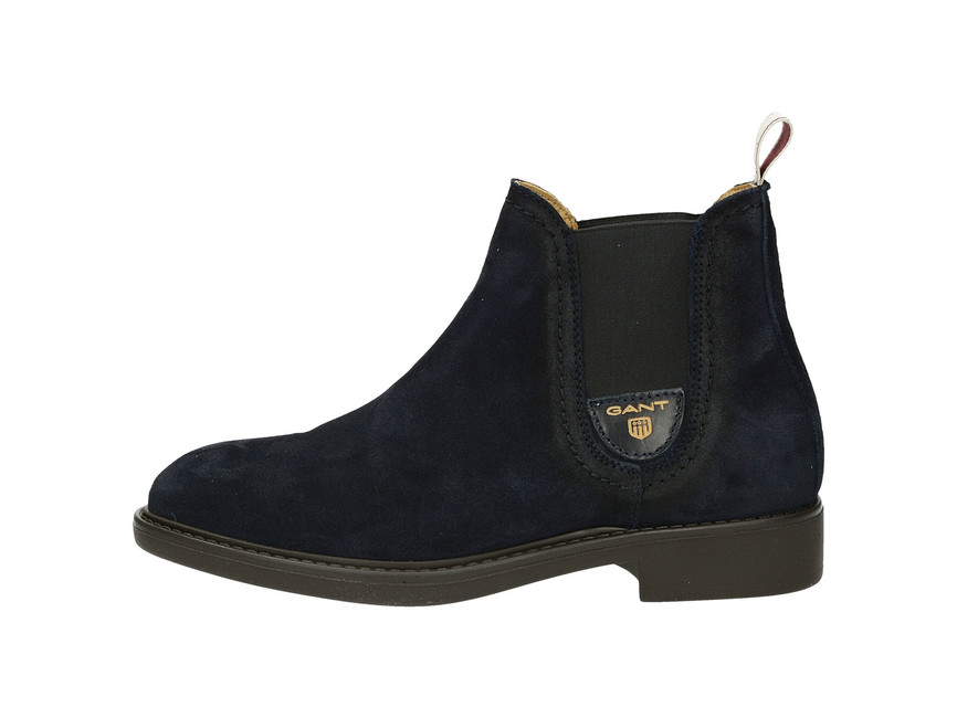 Gant dámské módní kotníkové boty - modré ... abb0b80a502