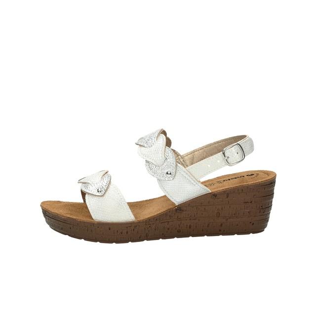 c268ee67f Inblu dámské pohodlné sandály - bílé Inblu dámské pohodlné sandály - bílé  ...