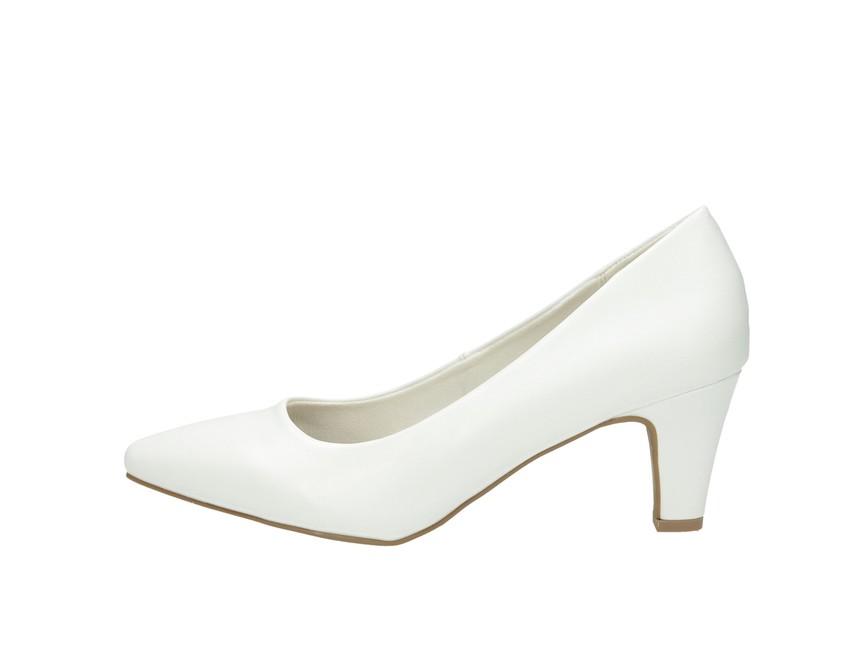 Jane Klain dámské lodičky - bílé Jane Klain dámské lodičky - bílé ... d7efd82d9b