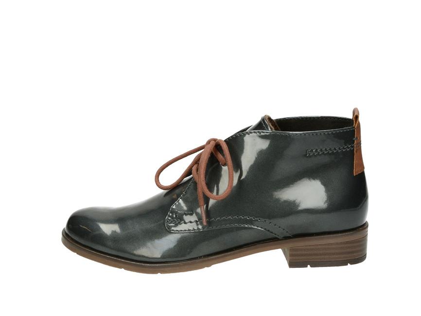 cfd32eceb6 ... Marco Tozzi dámské kotníkové boty - šedé ...
