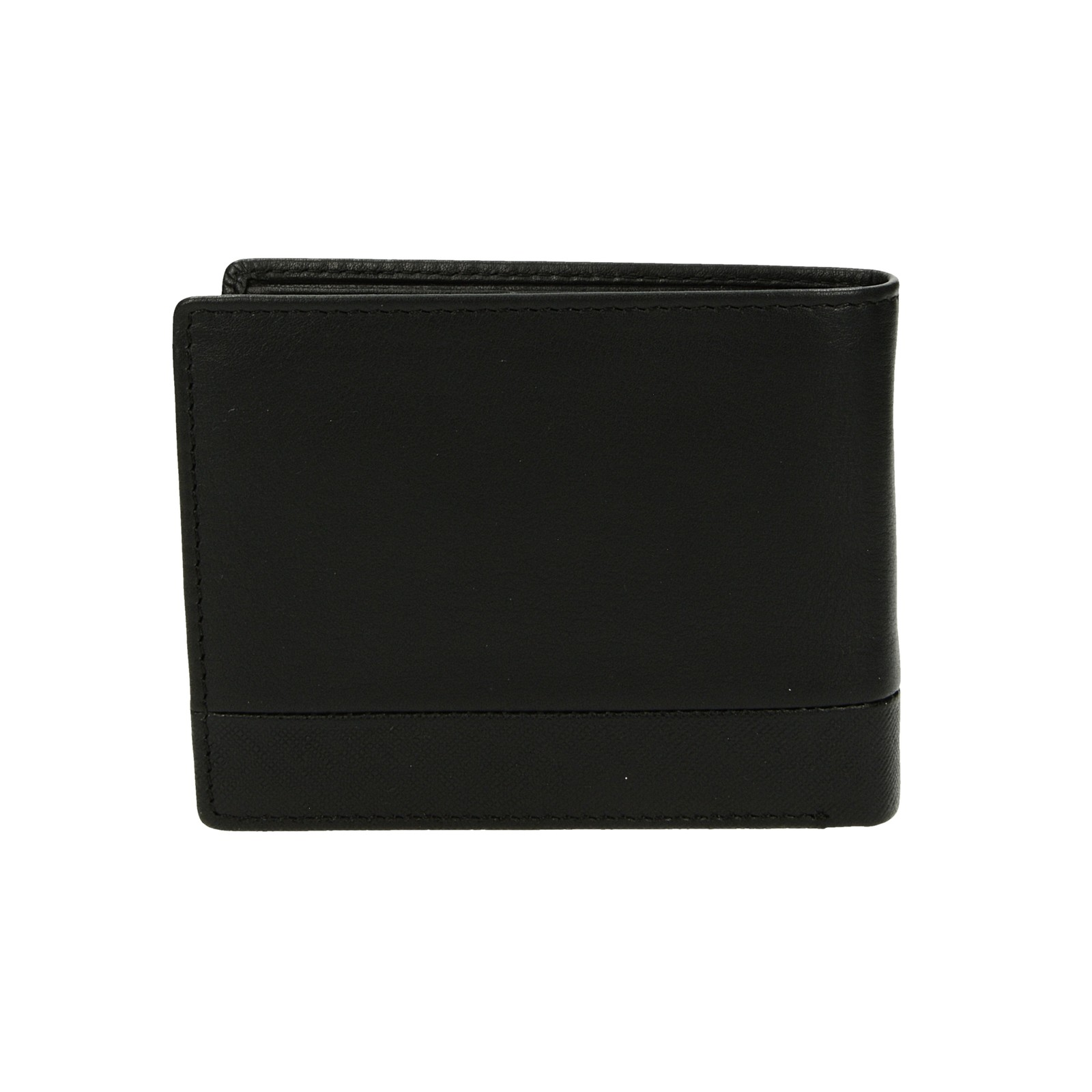 Metropoli pánská kožená peněženka - černá