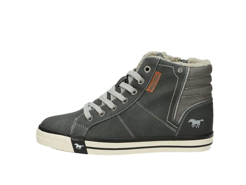 sports shoes 4bef2 25510 Cz shoes Grafite Dámské Mustang Šedé 5024602 robel Kotníkové Tenisky  awYw8vTq