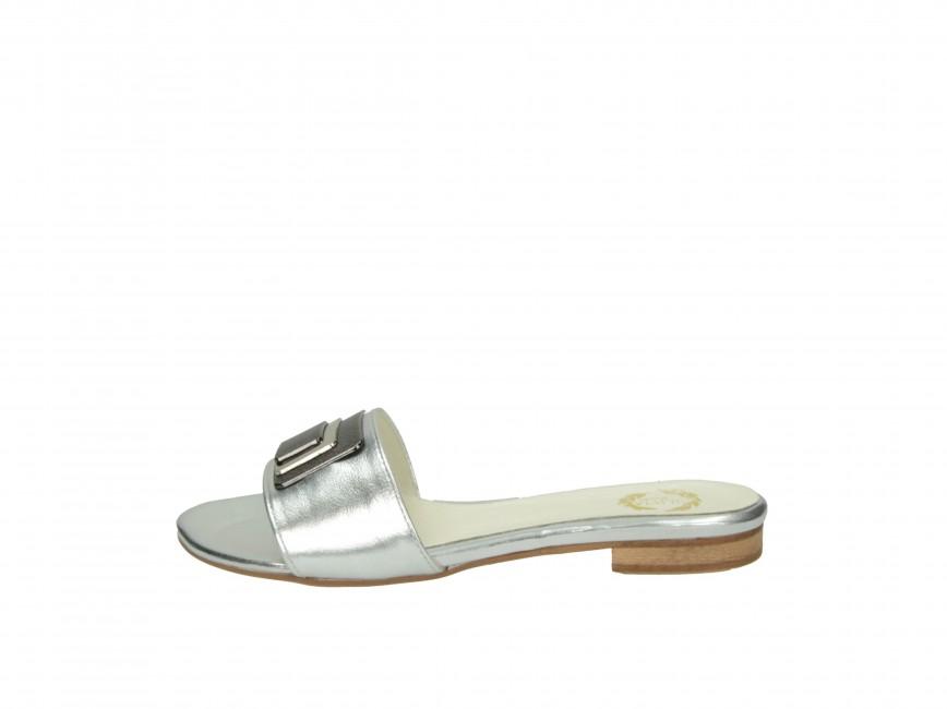 864ba31edd2 ... Olivia shoes dámské pantofle nazouváky - stříbrné ...