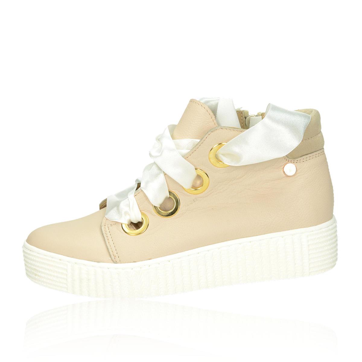 fc5a154b9433 ... Olivia shoes dámské stylové tenisky na platformě - béžové ...