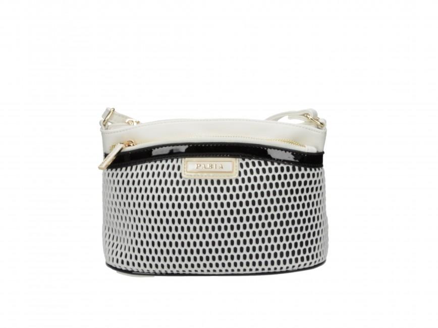 03e3c2fe951e Spoločenské kabelky. Pabia dámská stylová kabelka - černo bílá Pabia dámská  stylová kabelka - černo bílá ...