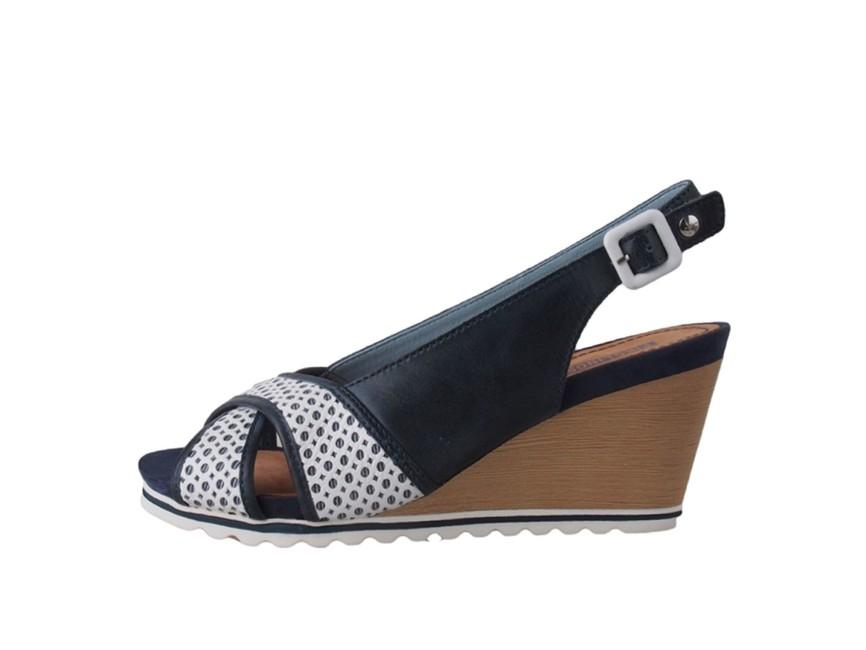 Pikolinos dámské sandály - modrobílé