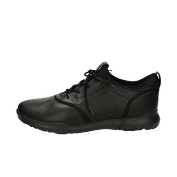 Geox pánské kožené tenisky - černé