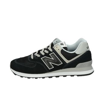New Balance pánské semišové tenisky - černé
