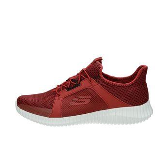 Skechers pánské textilní tenisky - červené