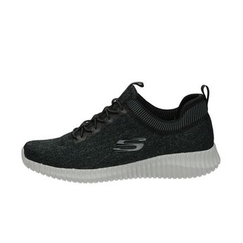 Skechers pánské textilní tenisky - černé