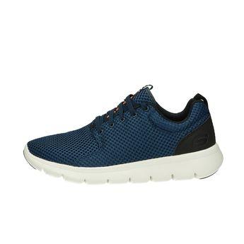 Skechers pánské textilní tenisky - modré