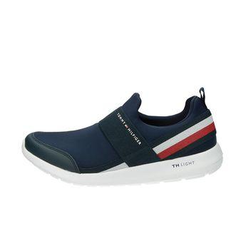 Tommy Hilfiger pánské pohodlné stylové tenisky - modré