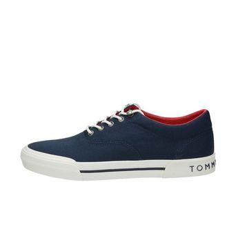 Tommy Hilfiger pánské textilní tenisky - modré