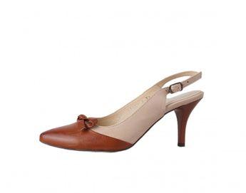 Acord dámské sandály - béžovohnedé