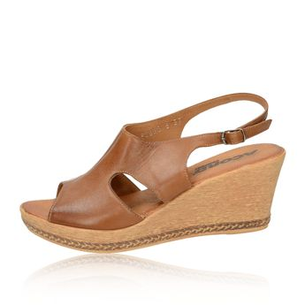 Acord dámské sandály - hnědé