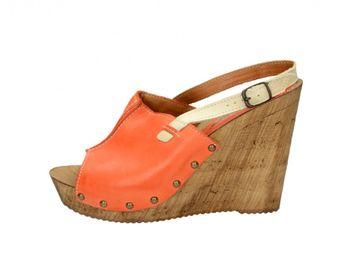 Acord dámské sandály - oranžové