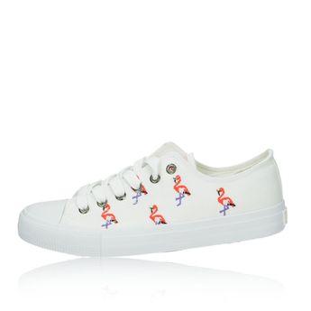 Big Star dámské plátené tenisky - bílé