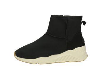 Big Star dámské pohodlné kotníkové boty - černé