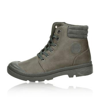 Big Star dámské stylové kotníkové boty - šedé