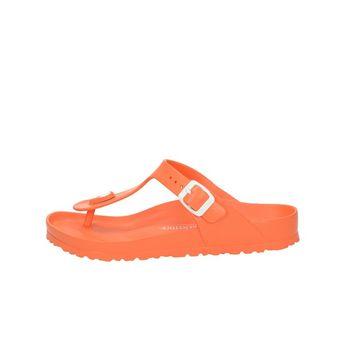 Birkenstock dámské stylové nazouváky - oranžové