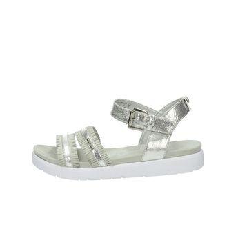 Bugatti dámské stylové sandály - stříbrné