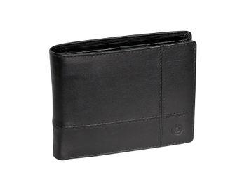 Bugatti pánská kožená peněženka - černá