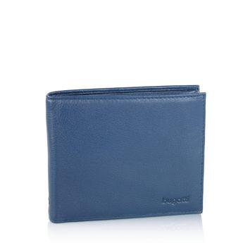 Bugatti pánská kožená peněženka - modrá