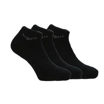 Bugatti pánské kotníkové ponožky - jednobarevné