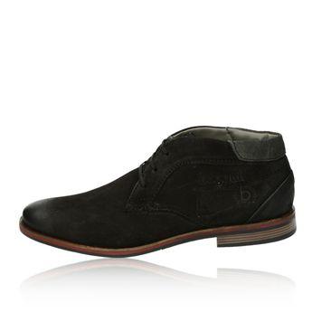 Bugatti pánské kotníkové boty - černé