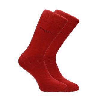 Bugatti pánské pohodlné ponožky - červené