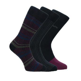 Bugatti pánské stylové ponožky - vícebarevné