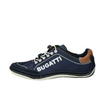 Bugatti pánské stylové tenisky - tmavomodré