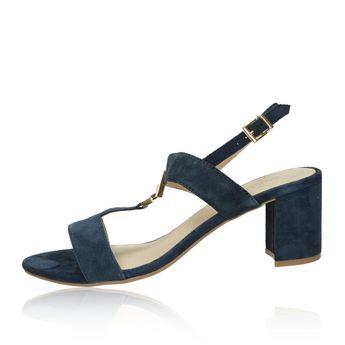 Caprice dámské semišové sandály - tmavomodré