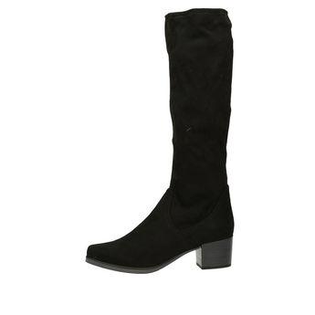 Caprice dámské vysoké kozačky - černé f5ed617bfb