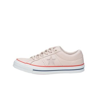 Converse dámské kožené tenisky -  růžové