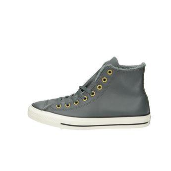 Converse dámské zateplené kotníkové boty - šedé