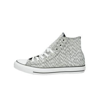 Converse pánska stylová kotníková obuv - černobílá