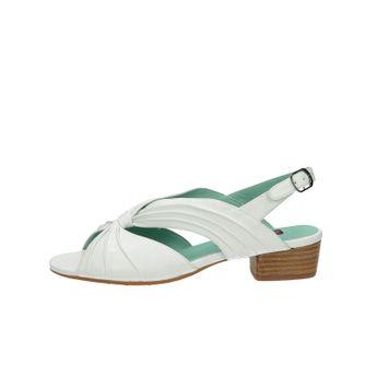 Everybody dámské kožené sandály - bílé