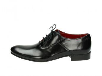 c5db0ba7f99 Akce. Faber pánské kožené boty - černé