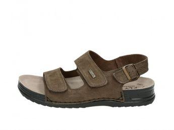 Fly flot pánské sandály - hnědé