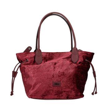 abor dámská stylová kabelka - bordó