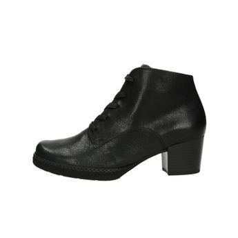a54ebae1448 Gabor dámské kožené kotníkové boty - černé
