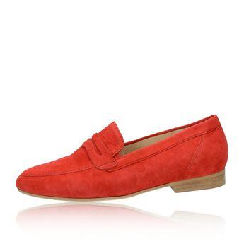 Gabor dámské semišové mokasíny - červené