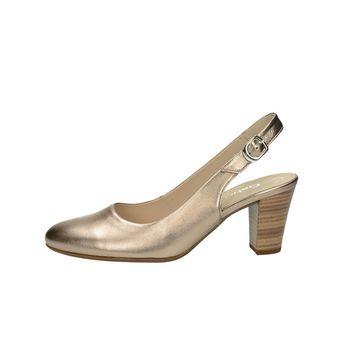 Gabor dámské stylové sandály s řemínkem - bronzové